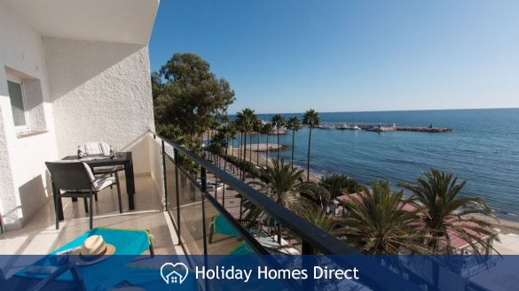 second terrace off the Bedroom  sea and pool view