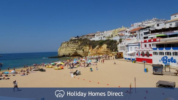 500m from carvoeiro beach