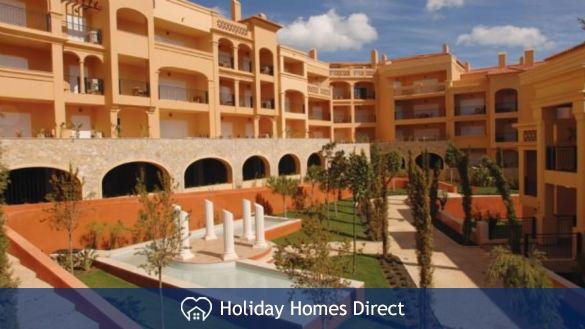 Estate area in Praia da luz on the Algarve