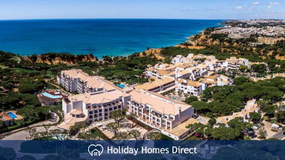 Pine Cliffs Townhouses aerial view in Portugal