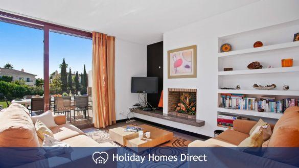 Sitting room in Casa Kerr on the Algarve