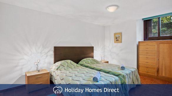 Spare bedroom in Casa Kerr on the Algarve