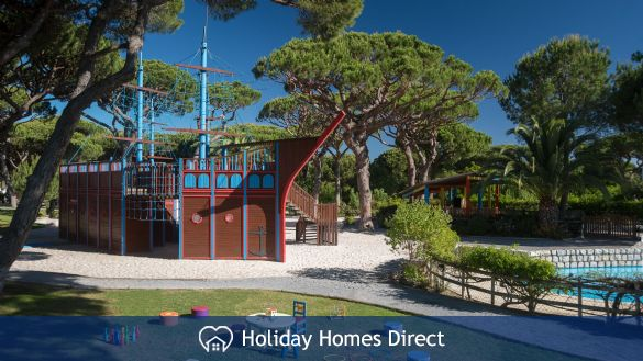 Playground in the pine cliffs resort in Portugal