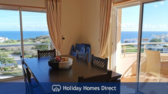 Stunning Sea Views from the Living Room Veranda