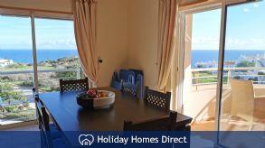 Stunning Sea Views from the Living Room Veranda