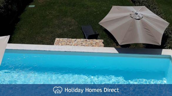 Villa Fatima private swimming pool in Portugal