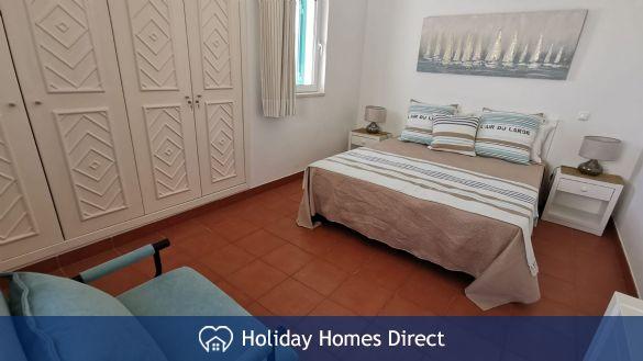 Master bedroom in prainha village in Portugal