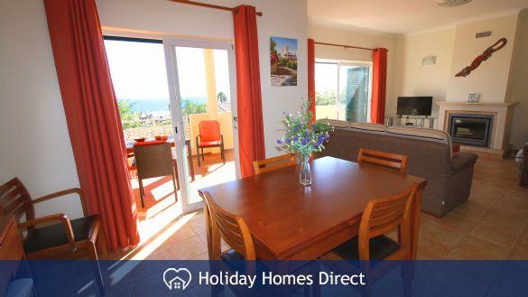 Bright Living Area opens to the veranda