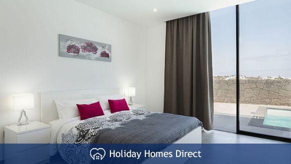 Bedroom in  Casa Bernadette in Lanzarote