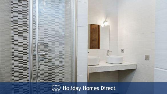 Shower in Casa Bernadette in Lanzarote