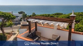 Vale Do Lobo Luxury Villa With Sea Views, Near Beach, Golf, Tennis, Praça, Portugal