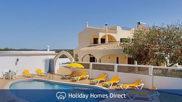 Villa Jasmin Albufeira – 4 bedroom villa with gated pool