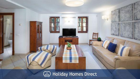Sitting room In Casa English on the Algarve