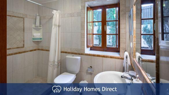 Bathroom In Casa English on the Algarve