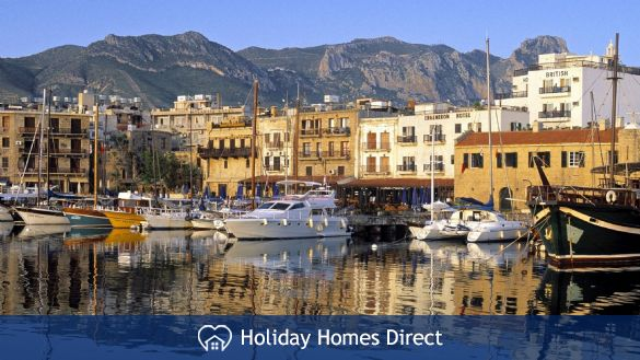 Enjoy a meal or drink at Kyrenia harbour