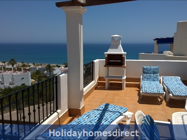 Stunning Sea-views Luxury Apartment.  Spanish Tourism Registered.  Free Wifi.  5 Minutes  Walk  Playa And Beaches, Uk Tv., Spain