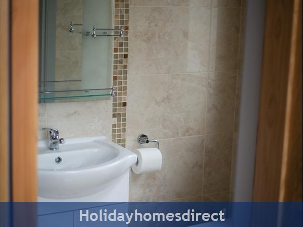 Pebble Beach, Sligo: Bathroom
