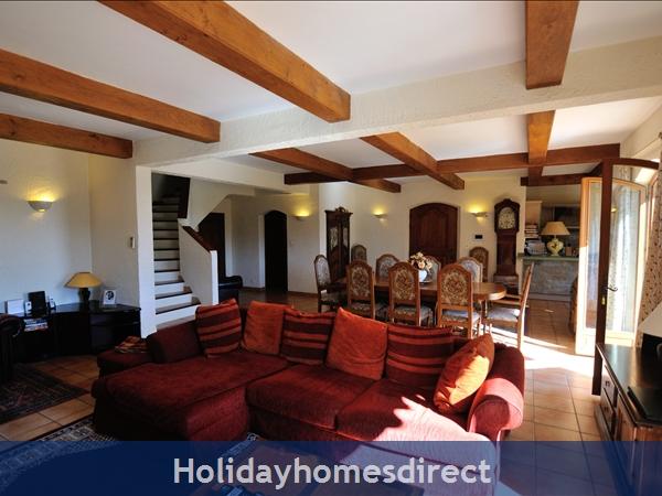 Mas St. Joseph, Provence Villa Rental: Lounge