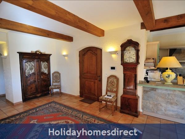 Mas St. Joseph, Provence Villa Rental: Entrance
