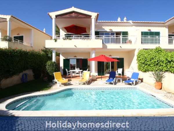 Villa Miranda. Praia da Luz .. 2 bedrooms, full Air-Con, Private pool, fantastic sea views !