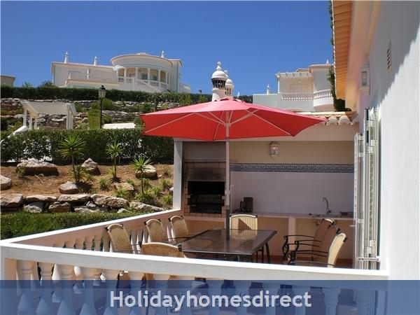 Villa 179, Parque Da Floresta, Western Algarve: BBQ Terrace