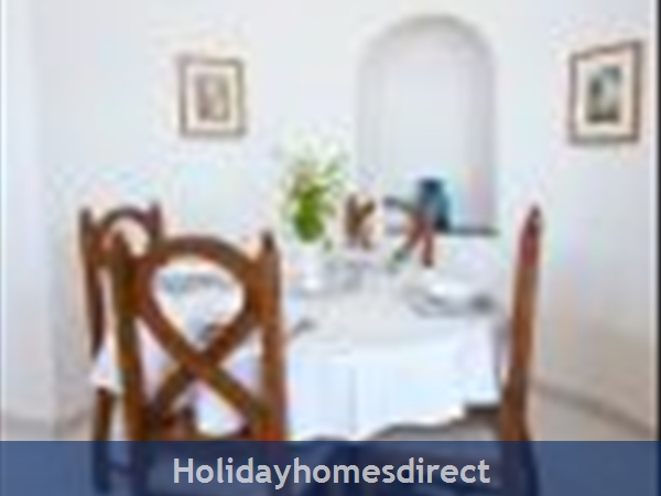 Casa Orla, Monte Dourado, Carvoeiro: Lounge dining