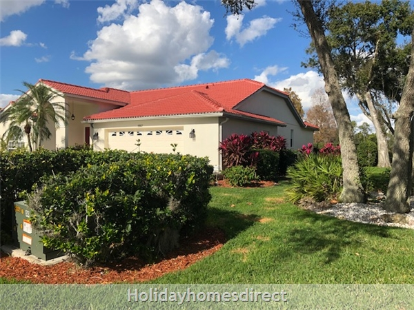 House in Sarasota, Florida With Free Golf, Golfing Vacation