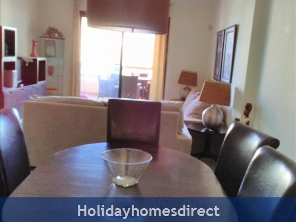 Jardines De La Noria, 2 Bedroom Apartment, Mijas Costa: Dining Area / Lounge