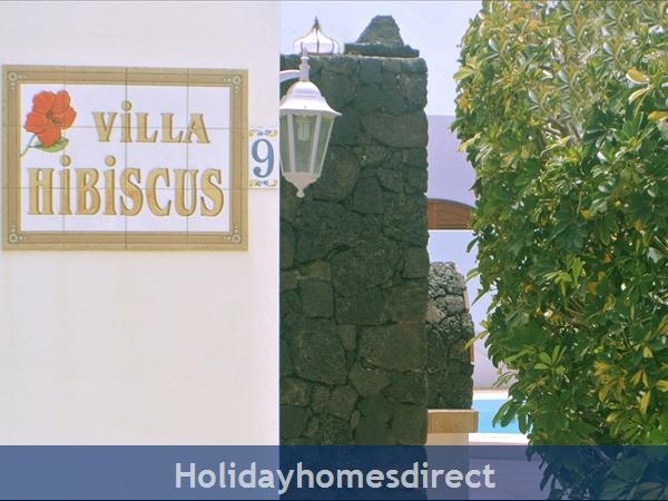 Villa Hibiscus, 3 Bedroom Villa, Puerto Del Carmen: Villa Hibiscus