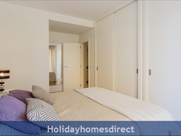 Varandas De Carteia, Apartment 150 Metres From Quarteira Beach: Double bedroom
