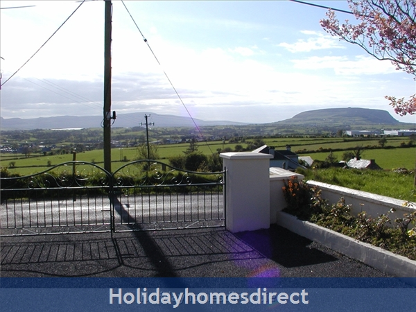 Old Farm Cottage, 3 Bed Holiday Home Sligo: View From Cottage
