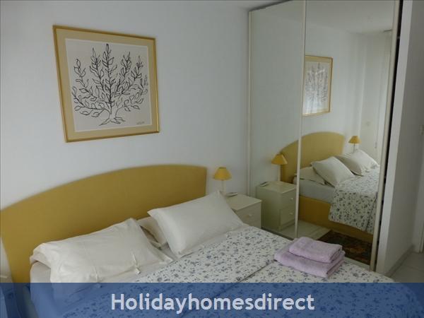 Beaulieu Sur Mer, Accommodation Cote D'azur: Bedroom