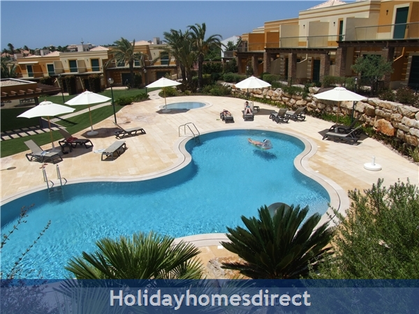 Villa Jose, Praia Da Luz/lagos/west Algarve: View of Pools from Villa