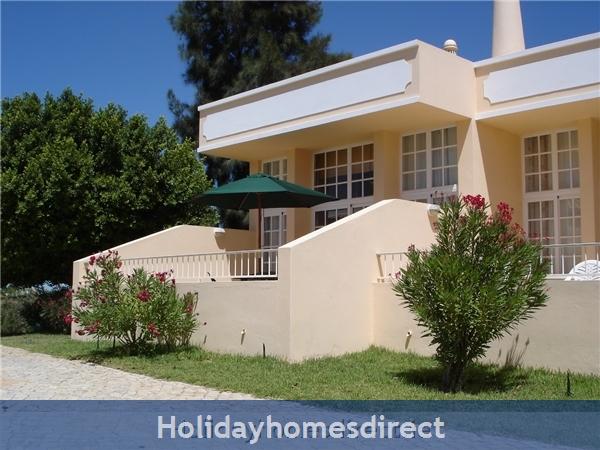 Villa With Wi-fi At Ponta Grande, Sao Rafael Near Albufeira: Sun Terrace