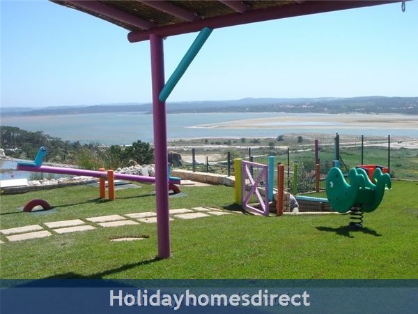 Large Luxury Silver Coast Villa, Free Pool Heating, Family Friendly: A kids paradise, looking out to supeb views