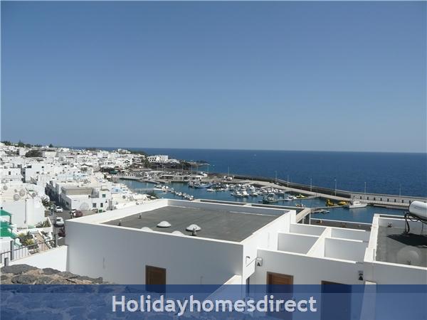 Villa Loretta With Private Pool, Puerto Del Carmen Old Town, Lanzarote: Villa Loretta harbour view