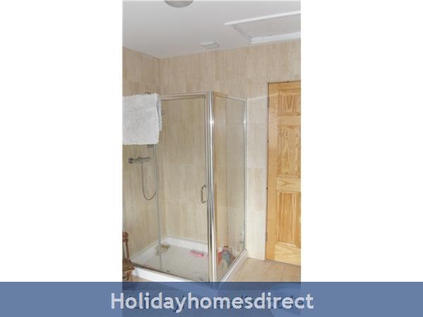Moran's Lodge: Bathroom Shower