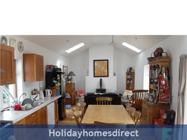 Moran's Lodge: Kitchen / Dining room
