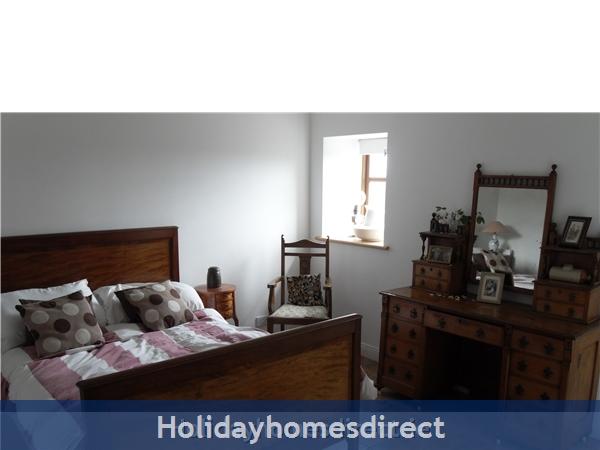 Moran's Lodge: Downstairs Double bedroom
