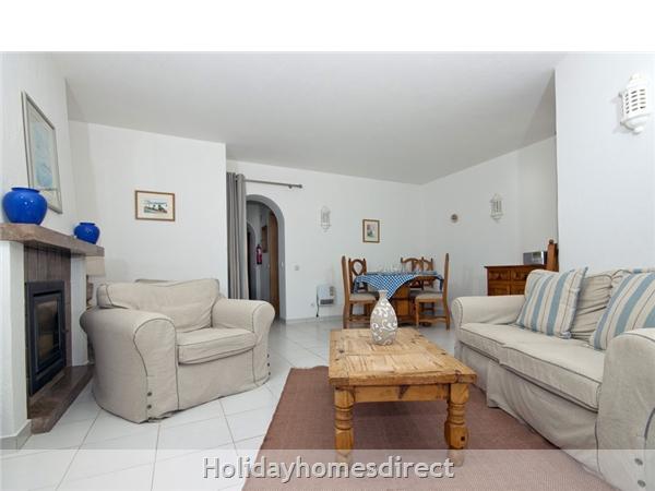 Casa Cillian, Monte  Dourado, Carvoeiro: Lounge dining