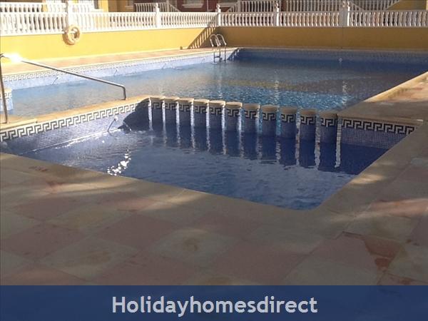 Pool and Kiddies area
