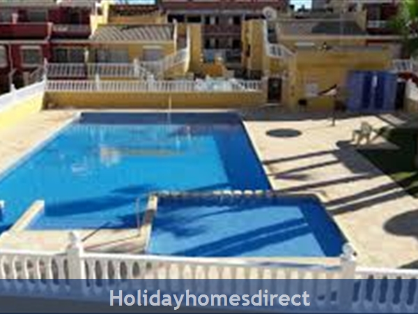 Sun Lake Torrevieja 3 Bedroom House Fully Air-conditioned, Wifi ,sky Tv: Pool area