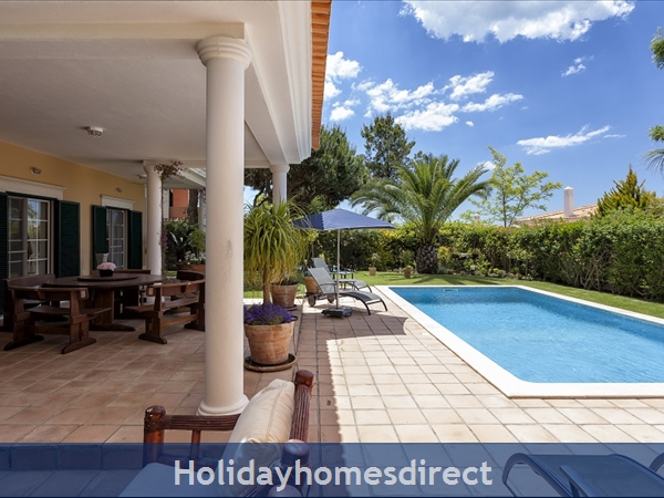 Martinhal Quinta, 4 Bed Villa With Private Pool, Quinta Do Lago Now Booking 2019: Pool area