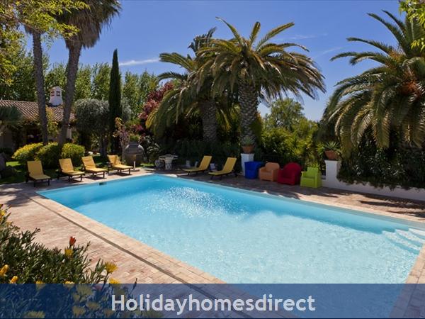 Villa Casa Amarela Boliqueime 7 Bedroom Private Villa With Pool: Pool
