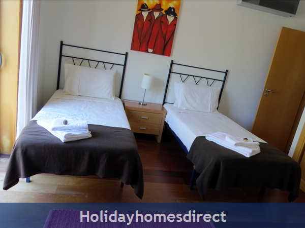 Parque Da Corcovada Ground Floor,luxury 2 Bedroom Poolside Apartment, Algarve: Bedroom2