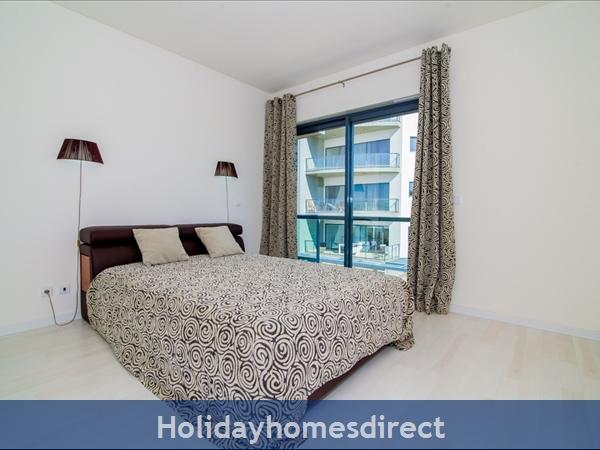 Cavalo Preto Beach, Beautiful 2 Bedroom, Wifi, Airconditioned Apartment Superb Sea & Pool Views (301) Fonte Santa Nr Quarteira, Vilamoura (113/12 Al): Image 5