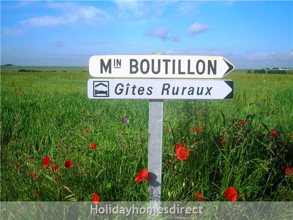 Maison: Welcome to boutillon gites