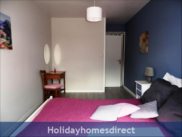Duplex Gite: Bedroom 1 double bed