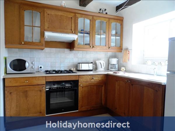 Duplex Gite: Kitchen