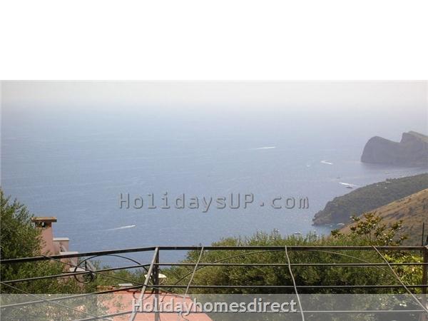Villa ocean view terrace sorrento coast booking